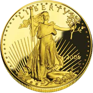 Eagle gold 2012 - 1 oz