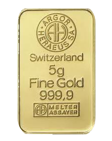 Gold bar 5 grams