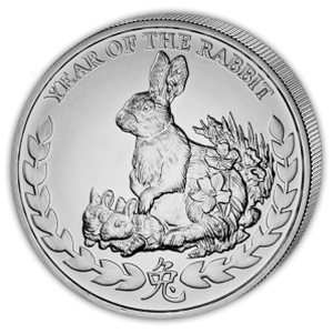 Year of the Rabbit 2011 - 1 oz  Somaliland