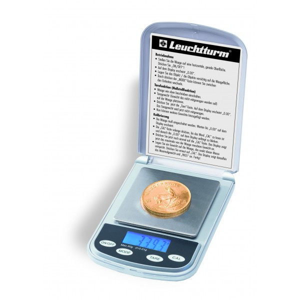 Digital scale for coins 0.01 - 50g
