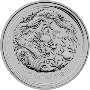 Year of the Dragon 2012 - 1/2 oz
