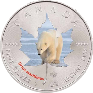 Polar bear  2014 - 1 oz