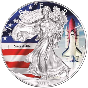 American Eagle 2014-Space Shuttle