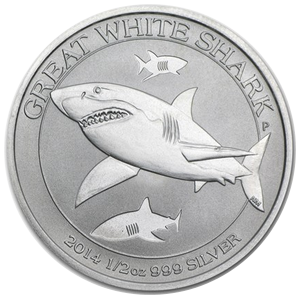 Great White Shark 2014 - 1/2 oz