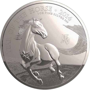 Year of the Horse 2014 - 1 oz