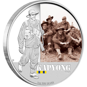 Famous Battles 1951 Kapyong Proof 2012 - 1 oz