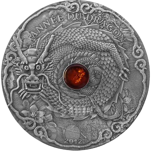 Lunar Dragon Togo 2012 - 2 oz