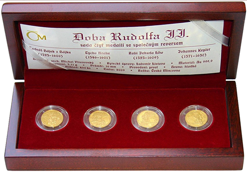 Set ČNB Doba Rudolfa II Proof