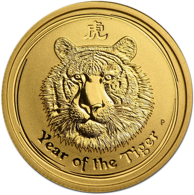 Year of the Tiger 2010 - 1/4 oz