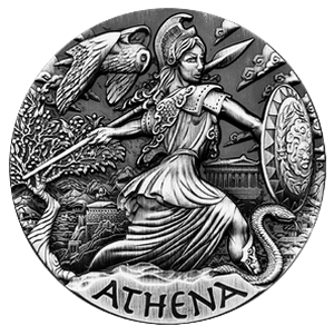 Athena 2 oz - The Goddesses of Olympus 2015