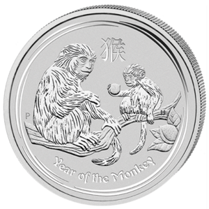 Year of the Monkey 2016 - 1 oz