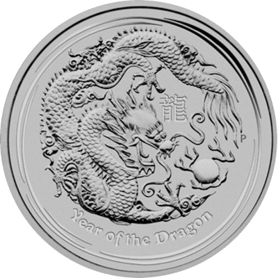 Year of the Dragon 2012 - 1 oz
