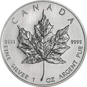 Maple Leaf 2014- Canada 1 oz