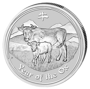 Year of the Ox 2009 - 1 oz