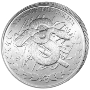 Year of the Snake 2013  1 oz  Somaliland