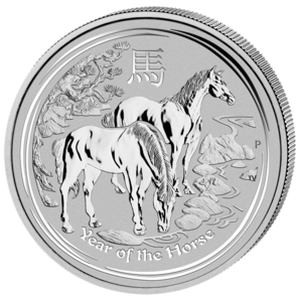 Year of the Horse 2014 - 2 oz