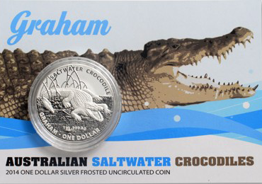 Saltwater Crocodiles Graham - 1 oz s blistrem