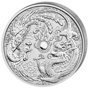 Dragon and Phoenix 2017 - 1 oz