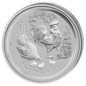 Year of the Rooster 2017 - 1 oz