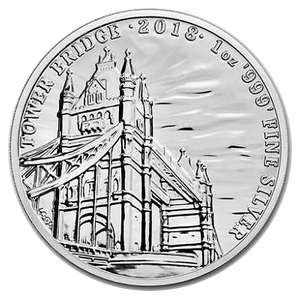 Tower Bridge 2018 - Landmarks of Britain Serie 1 oz